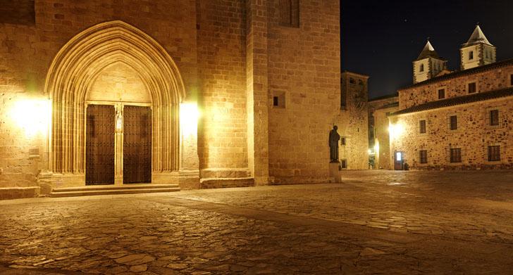 que ver caceres concatedral Santa Maria