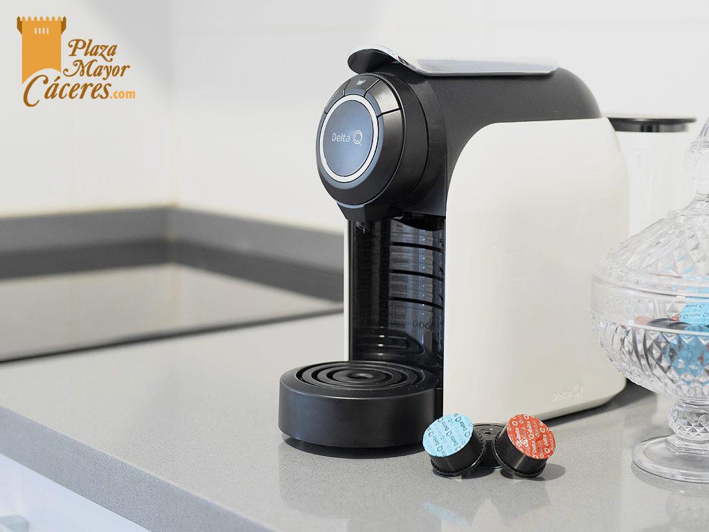 Capsulas regalo cafetera cocina equipada alojamiento