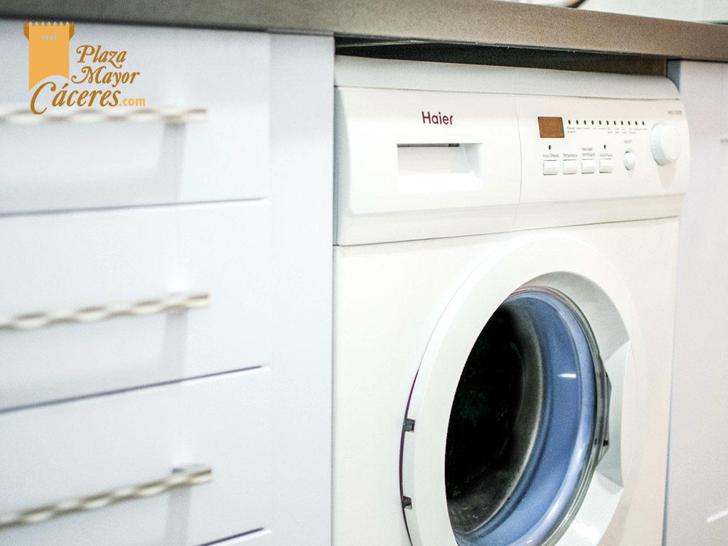 cocina con lavadora para alquilar