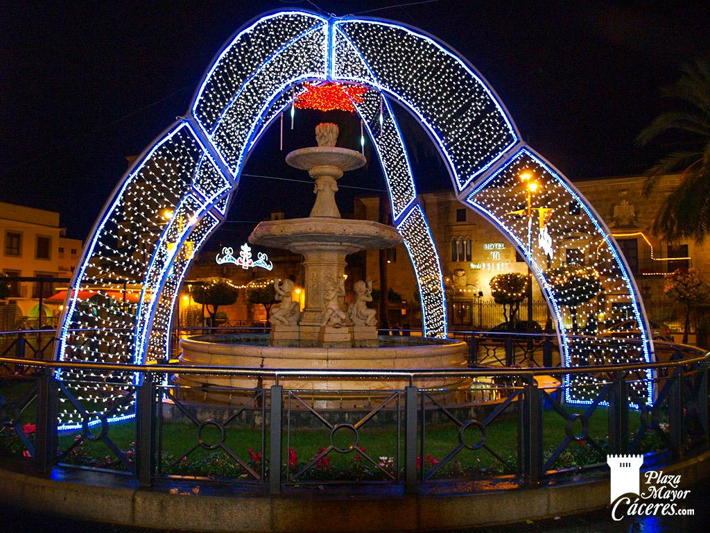 encendido luces navidad plaza colon
